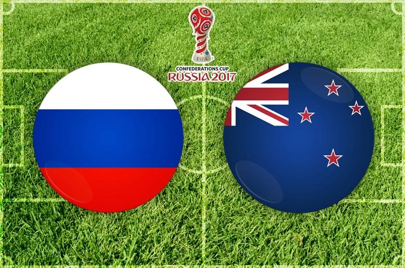 rusia vs nueva zelanda confederaciones 2017 Rusia vs Nueva Zelanda, Inauguración Confederaciones 2017 | Resultado: 2 0