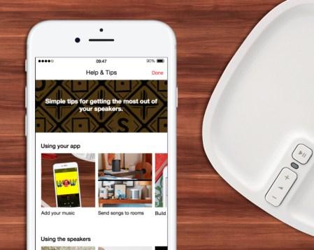 Lo nuevo de la actualización de la app Sonos