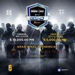 Más de 267 equipos se han escrito al torneo Tom Clancy's Rainbow Six Siege Cups