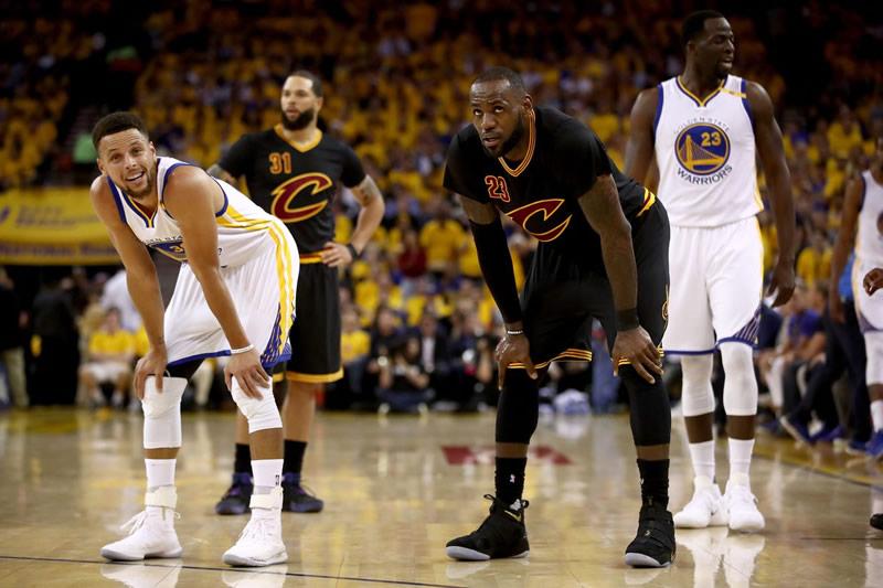 Warriors sumó segunda victoria ante Cavaliers en la final de la NBA