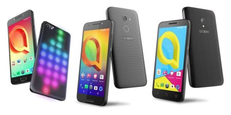 Alcatel A5 Led, A3 Plus 3G y U5 4G llegan a México
