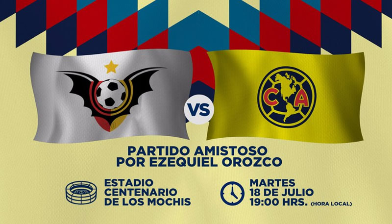 América vs Murciélagos, partido amistoso 2017 | Resultado: 1-2 - america-vs-murcielagos-amistoso-2017