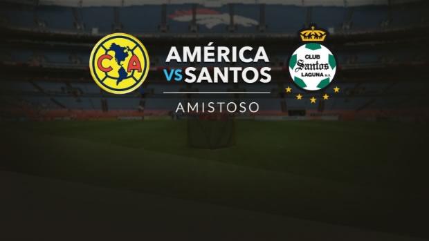 América vence a Santos en juego de pretemporada