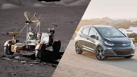 Chevrolet trae la tecnología totalmente eléctrica de la luna a la Tierra