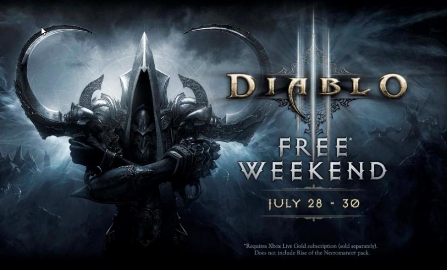 diablo iii reaper of souls ultimate evil edition Diablo III: Ultimate Evil Edition ¡Gratis este fin de semana con Xbox Live Gold!