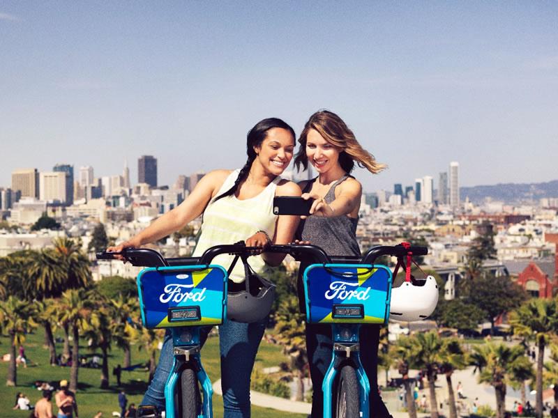 Ford GoBike, las bicicletas compartidas de Ford comienzan a circular en San Francisco - ford-gobike