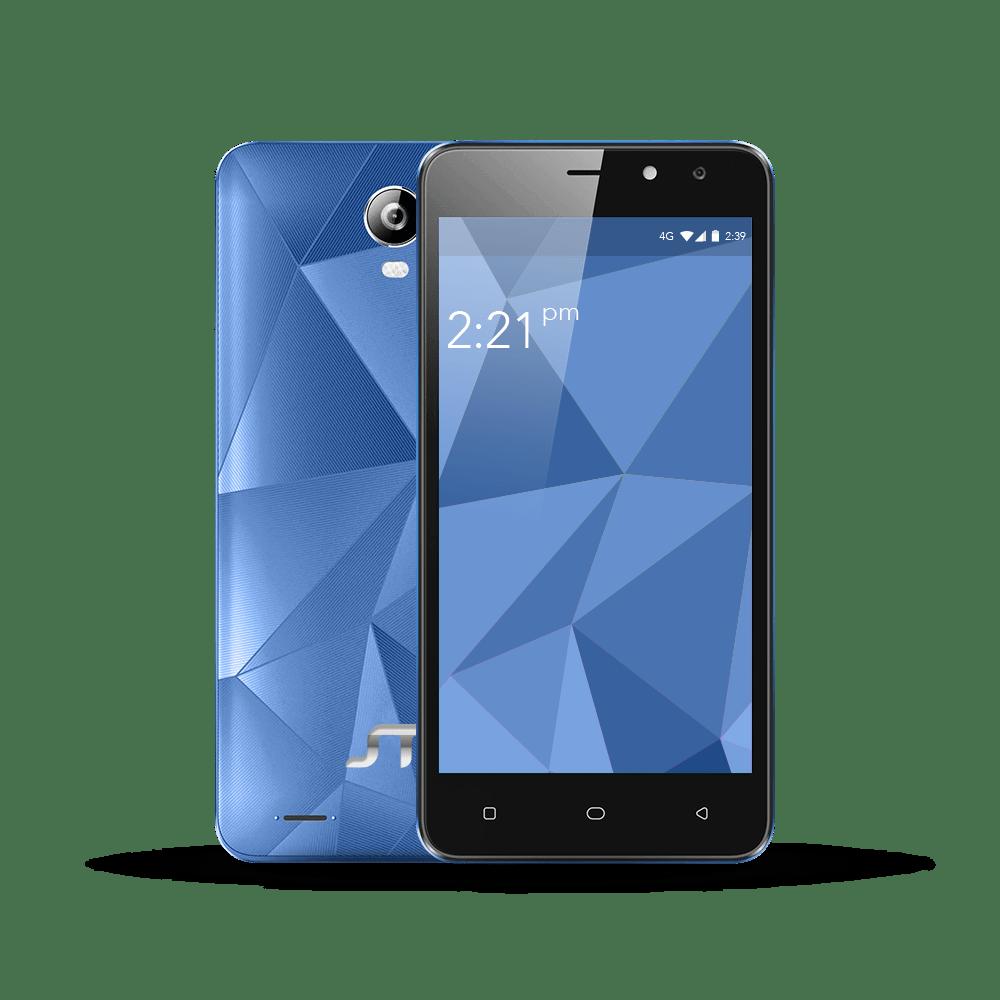 Fractal, un smartphone 4G que integra entrada dual SIM - fractal-azul
