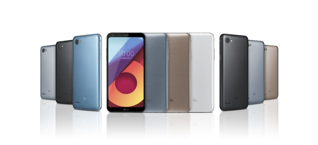 LG Q6: los equipos todo pantalla llegan a la gama media - lg-q6-series