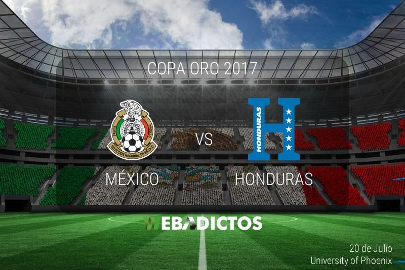 México vs Honduras, Copa Oro 2017 | Resultado: 1-0 | Cuartos de Final - mexico-vs-honduras-copa-oro-2017