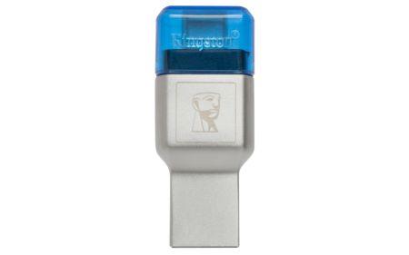 Kingston presenta el nuevo lector de tarjetas USB microSD tipo C: MobileLite Duo 3C - mobilelite-duo-3c-450x281