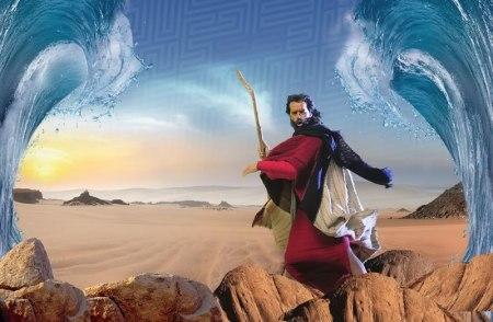 Moisés y los Diez Mandamientos estrena la esperada apertura del Mar Rojo