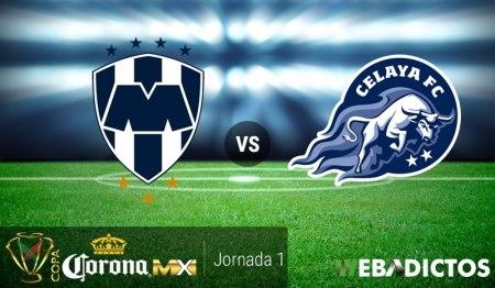 Monterrey vs Celaya, Jornada 1 de Copa MX A2017 | Resultado: 3-0