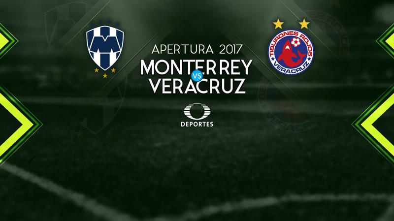 Monterrey vs Veracruz, Jornada 2 del Apertura 2017 | Resultado: 1-0 - monterrey-vs-veracruz-en-vivo-apertura-2017