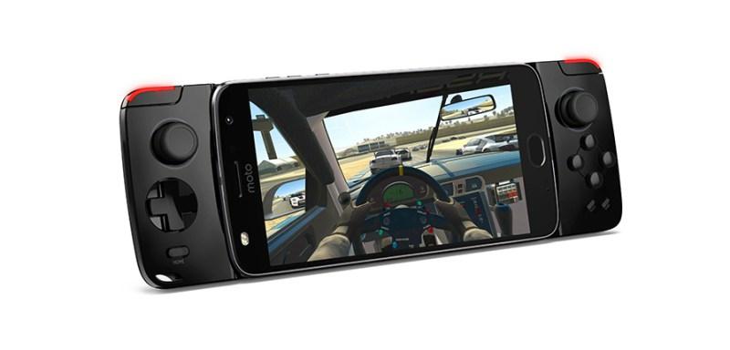 Moto Z2 Play y los nuevos Moto Mods llegan a AT&T - moto-gamepad-800x384