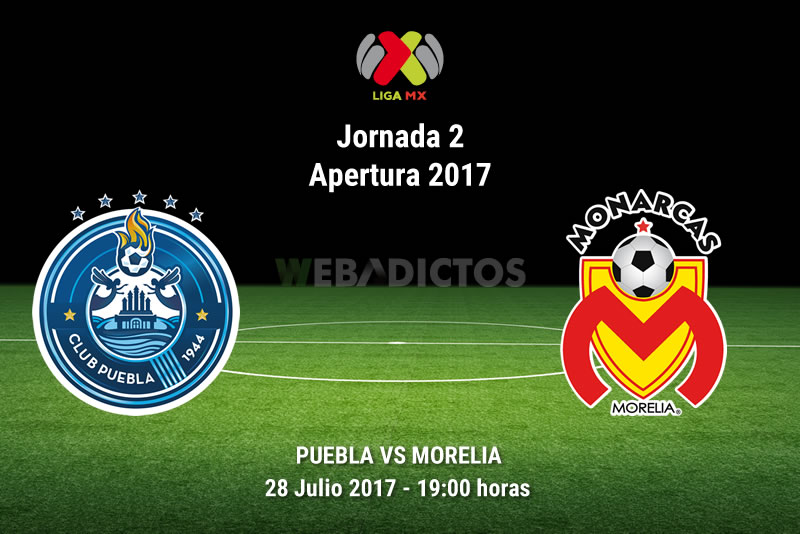 Puebla vs Morelia, Jornada 2 del Apertura 2017   Resultado: 1-1 - puebla-vs-morelia-j2-apertura-2017