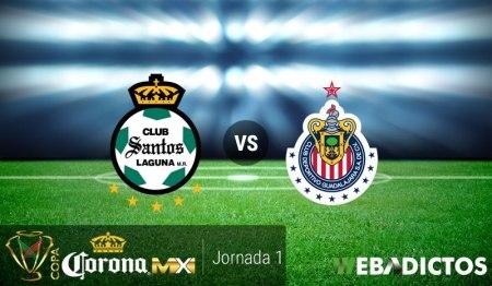 Santos vs Chivas, Copa MX Apertura 2017 | Resultado: 2-0