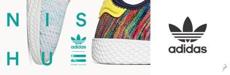 adidas Originals presenta Tennis Hu Part II: reimaginados por Pharrell Williams