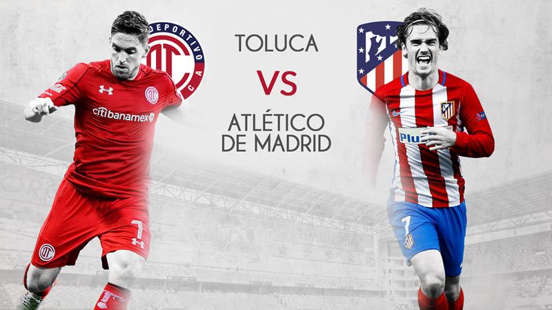 Toluca vs Atlético de Madrid, Partido Centenario | Resultado: 0-0 - toluca-vs-atletico-de-madrid-centenario