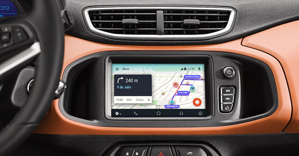 Waze ahora estará en los automóviles a través de Android Auto - waze-android-auto
