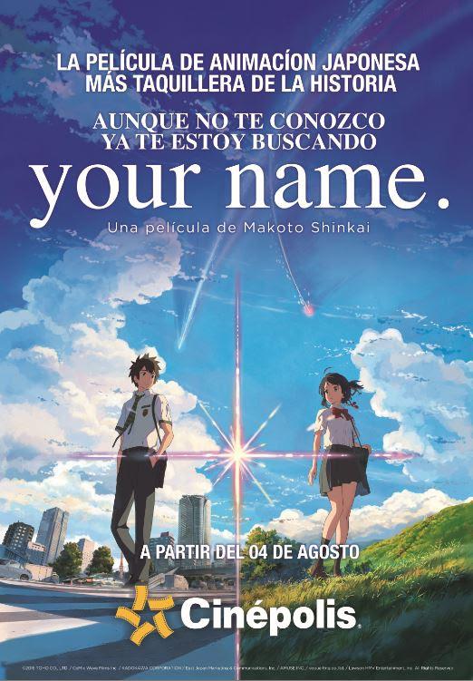 """""""Your Name"""" la película de animación japonesa más taquillera de la historia llega a México - your-name"""