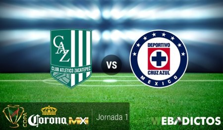 Zacatepec vs Cruz Azul, J1 de Copa MX A2017 ¡En vivo por internet!