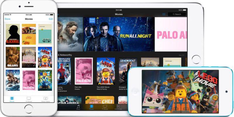 Apple buscará ofrecer películas en 4K a 20 dólares - apple-itunes-movies