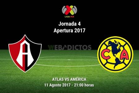 Atlas vs América, Jornada 4 Liga MX Apertura 2017 | Resultado: 1-0