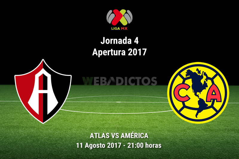 atlas vs america j4 apertura 2017 Atlas vs América, Jornada 4 Liga MX Apertura 2017 | Resultado: 1 0