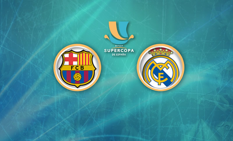 barcelona vs real madrid supercopa espana 2017 internet Barcelona vs Real Madrid, Ida de Supercopa de España 2017 | Resultado: 1 3