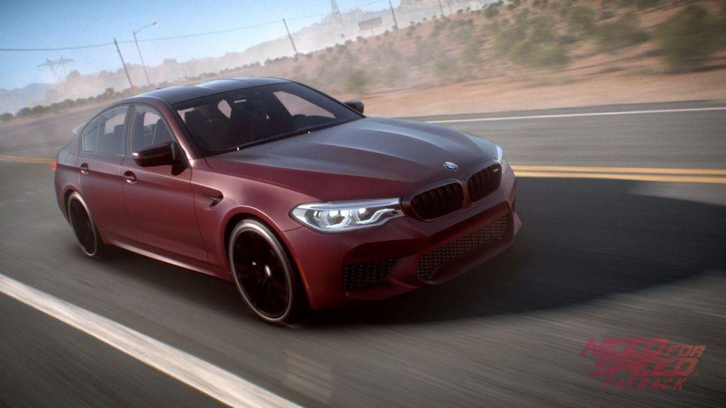 bmw m5 en need for speed payback 1 Conoce el nuevo BMW M5 2018 para Need for Speed Payback