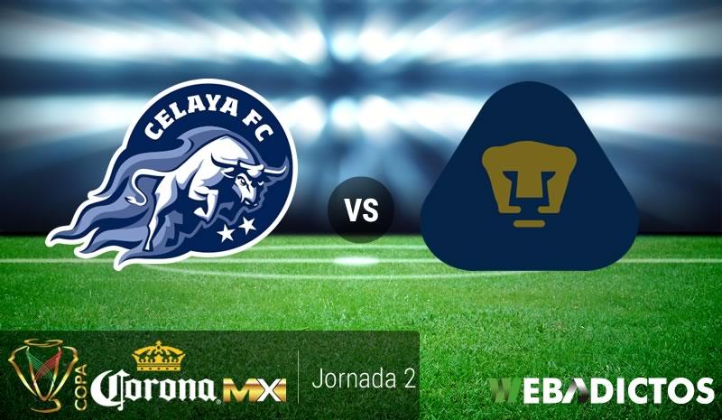 Celaya vs Pumas, Jornada 2 Copa MX A2017 | Resultado: 1-1 - celaya-vs-pumas-copa-mx-apertura-2017