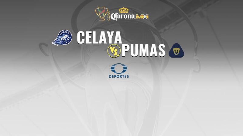 Celaya vs Pumas, Jornada 2 Copa MX A2017 | Resultado: 1-1 - celaya-vs-pumas-en-vivo-copa-mx-apertura-2017