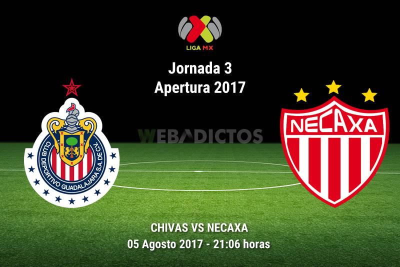 Chivas vs Necaxa, Jornada 3 Apertura 2017 | Resultado: 2-2 - chivas-vs-necaxa-j3-apertura-2017