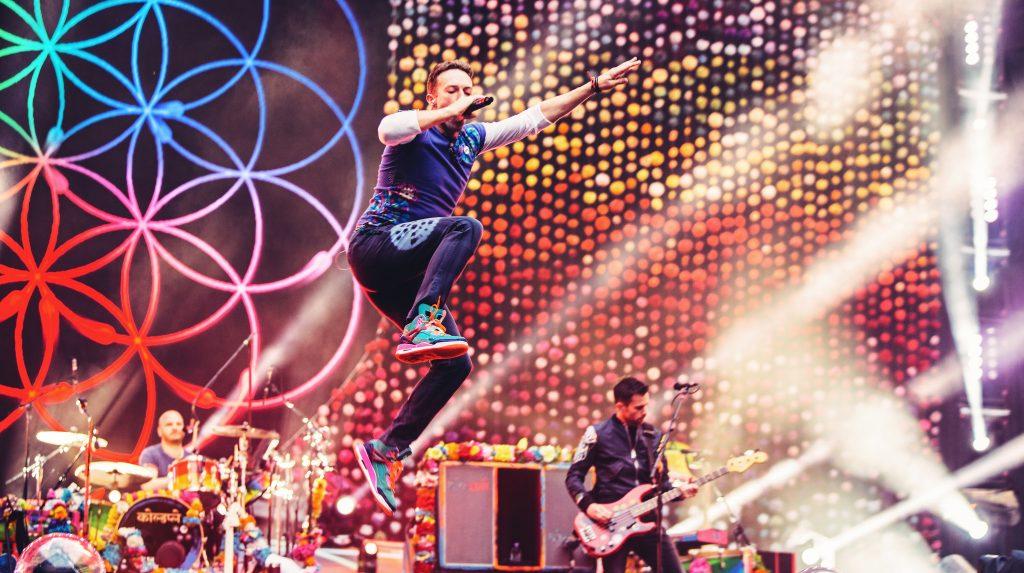 Concierto de Coldplay será transmitido en Realidad Virtual — CHILE