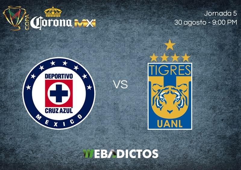 Cruz Azul vs Tigres, J5 de Copa MX A2017 | Resultado: 2-1 - cruz-azul-vs-tigres-j5-copa-mx-apertura-2017