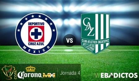 Cruz Azul vs Zacatepec, J4 Copa MX Apertura 2017   Resultado: 1-0