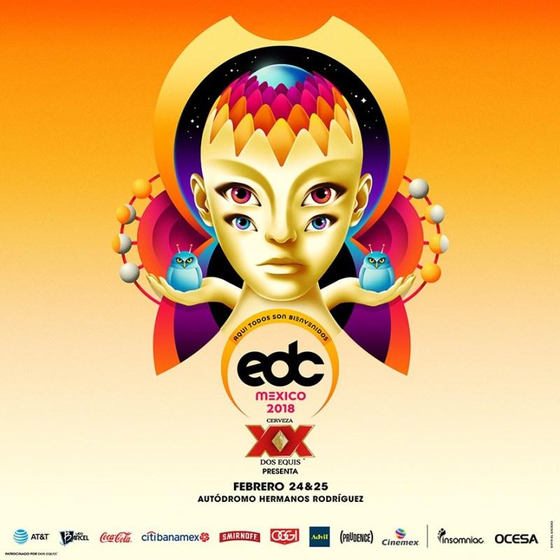 EDC México 2018, el festival más grande de música electrónica ¡anuncia fechas! - edc_2018-800x800