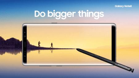 Samsung hace oficial al Galaxy Note 8