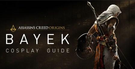 Descarga la guía de cosplay oficial de Assassin's Creed y transfórmate en Bayek