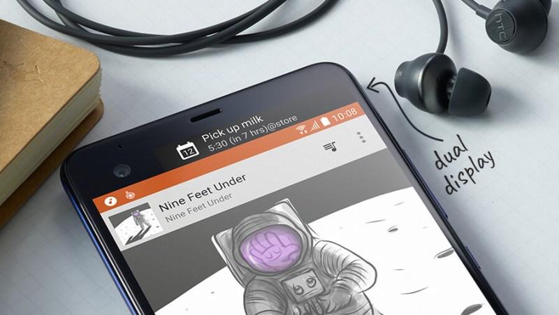HTC U Ultra una edición Limitada, con segunda pantalla de 2 pulgadas - htc-u-ultra-dual-display-800x451