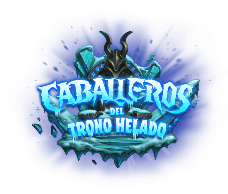 knights of the frozen throne logo esmx 800x680 Nueva Expansión de Hearthstone: Caballeros del Trono Helado ¡ya Disponible!