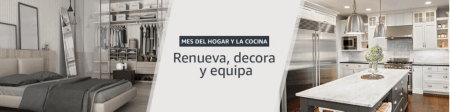 Amazon México presenta el mes del hogar y la cocina ¡conoce sus ofertas!