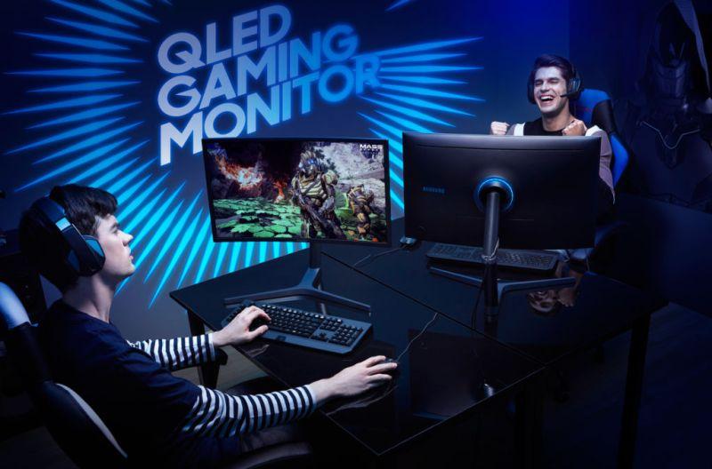 Los cuatro géneros más populares en el mundo del PC gaming - monitor-curvo-cfg70-samsung-gamer-800x528