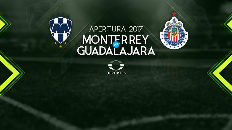 Monterrey vs Chivas, Jornada 4 Liga MX A2017 | Resultado: 4-1 - monterrey-vs-chivas-en-vivo-apertura-2017-j4