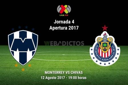 Monterrey vs Chivas, Jornada 4 Liga MX A2017 | Resultado: 4-1