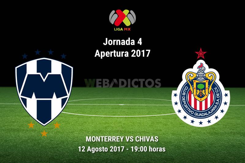 Monterrey vs Chivas, Jornada 4 Liga MX A2017 | Resultado: 4-1 - monterrey-vs-chivas-j4-apertura-2017
