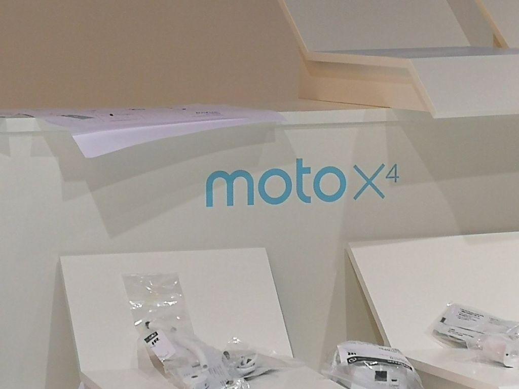 El Moto X4 se presentará en el IFA 2017 - moto-x4-stand