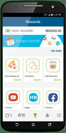 Movistar On, la nueva App que revoluciona la experiencia del cliente Prepago - movistar-on-rewards-224x450