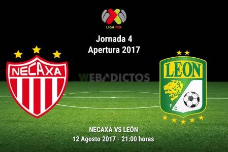 Necaxa vs León, Fecha 4 del Apertura 2017 | Resultado: 0-3