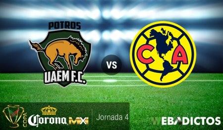 Potros UAEM vs América, Copa MX Apertura 2017 | Resultado: 2-3
